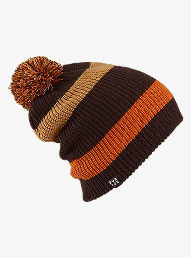 Burton What's Your 9er? Beanie shown in Mocha / Syrup / Maui Sunset