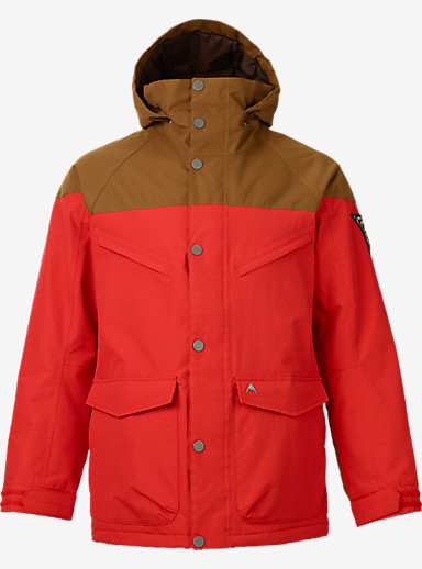 Burton Frontier Jacket shown in Beaver Tail / Burner