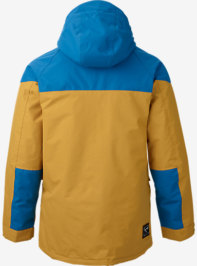 Burton Frontier Jacket shown in Glacier Blue / Nomad