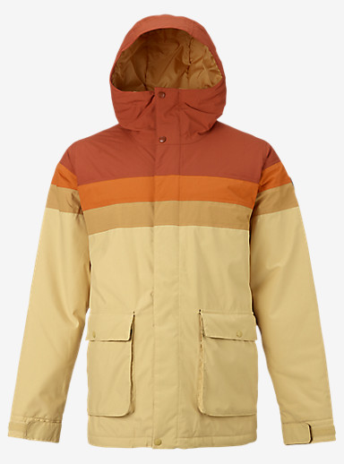Burton Frontier Jacket shown in Picante / Maui Sunset / Syrup / PI