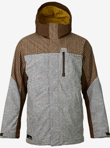 Burton Encore Jacket shown in Mocha Menswear Block