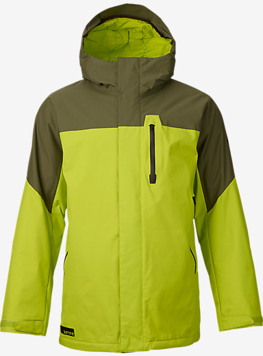 Burton Encore Jacket shown in Venom / Keef Block