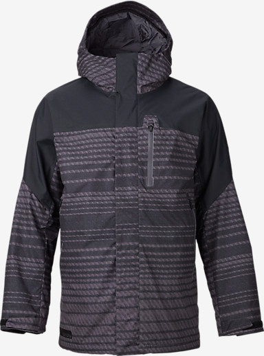 Burton Encore Jacket shown in Dawson Stripe