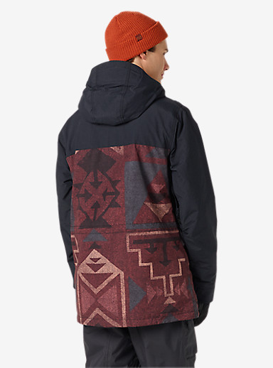 Burton Encore Jacket shown in True Black / Canyon