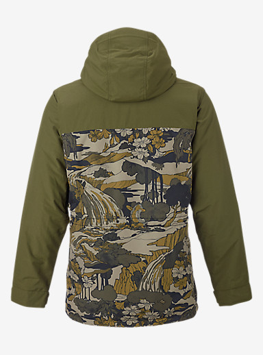Burton Encore Jacket shown in Keef / Pacifist Camo