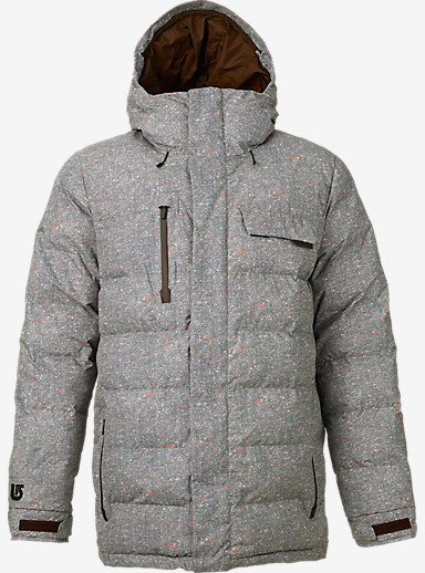 Burton Hostile Jacket shown in Herringbone Print