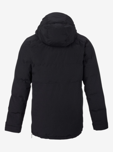Burton Service Anorak shown in True Black