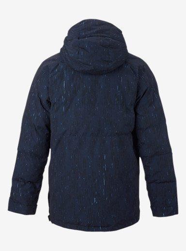 Burton Service Anorak shown in Rain Stencil