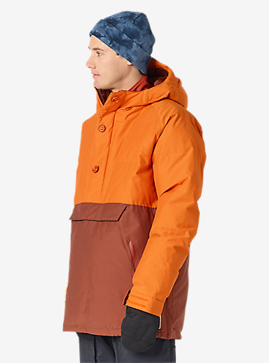 Burton Service Anorak shown in Maui Sunset / Matador