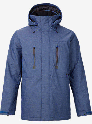 Burton Breach Jacket shown in Textured Boro