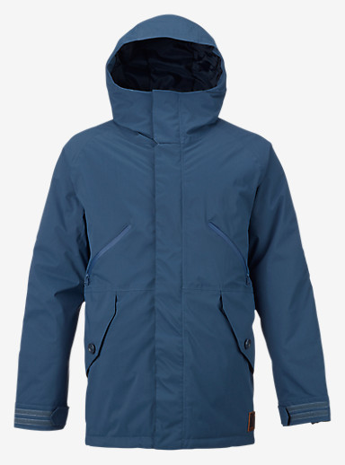 Burton Breach Jacket shown in Washed Blue / Larkspur