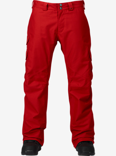 Burton Cargo Pant  - Classic Fit shown in Process Red