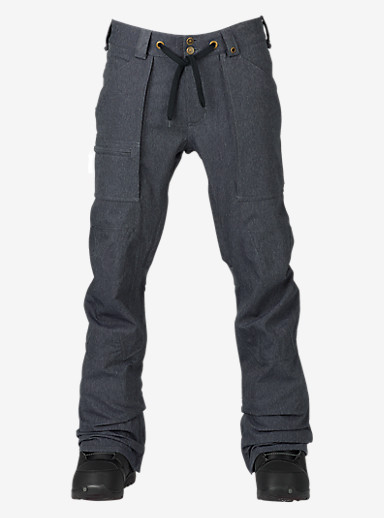 Burton Southside Pant - Slim Fit shown in Denim
