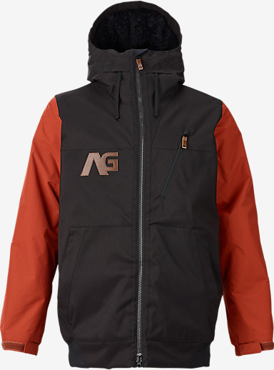 Analog Greed Jacket shown in Black / Camino