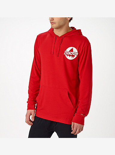Burton Midweight Pullover Hoodie shown in Throwback