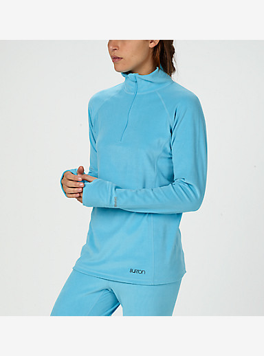 Burton Women's Expedition 1/4 Zip shown in Ultra Blue