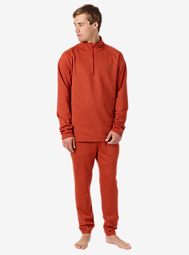 Burton Expedition 1/4 Zip Base Layer shown in Picante