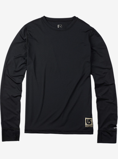 Burton Lightweight Crew shown in True Black