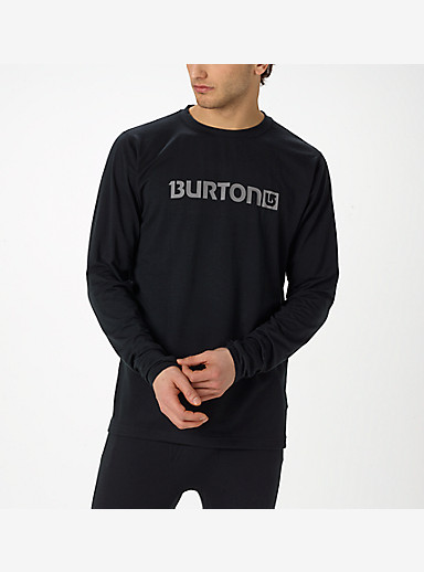 Burton Midweight Crew shown in True Black