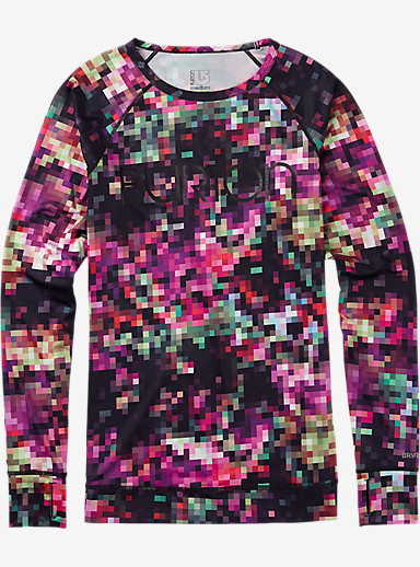Burton Women's Lightweight Crew shown in Floral Pixel