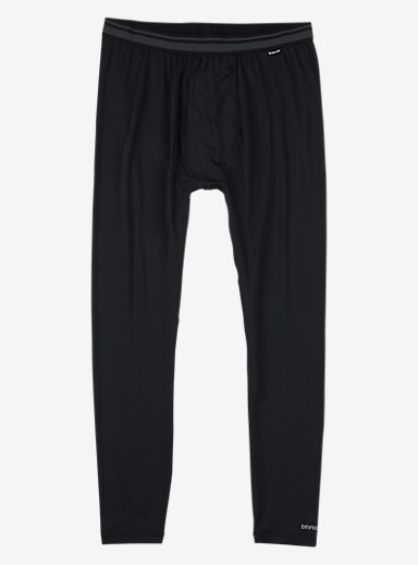 Burton Lightweight Base Layer Pant shown in True Black