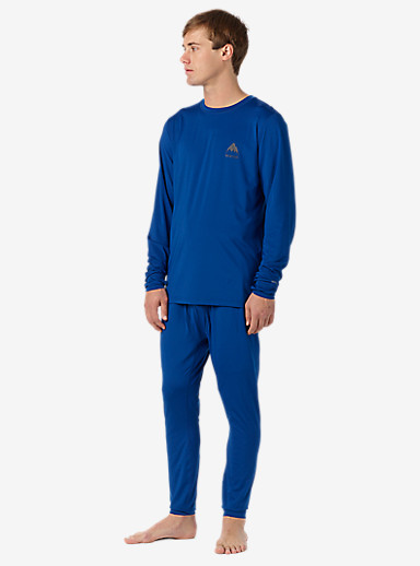 Burton Lightweight Base Layer Pant shown in True Blue