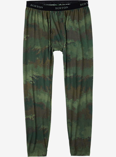 Burton Midweight Pant shown in Oil Camo