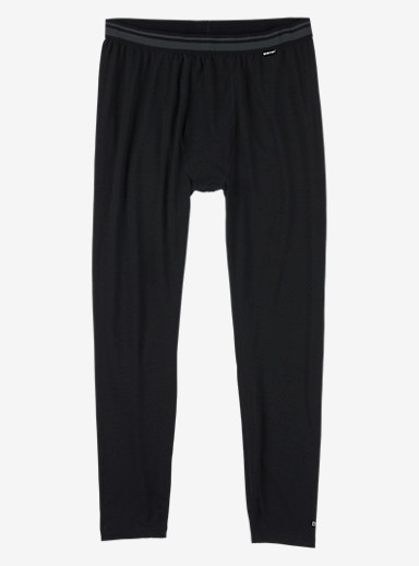 Burton Midweight Base Layer Pant shown in True Black