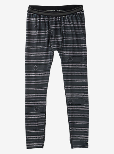 Burton Midweight Base Layer Pant shown in Faded Stag Stripe