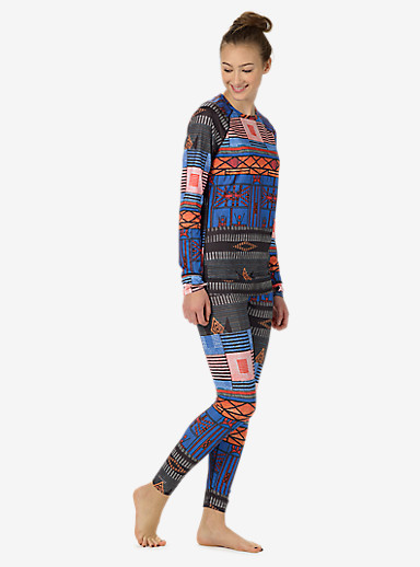 Burton Women's Lightweight Base Layer Pant shown in Uptown Funk