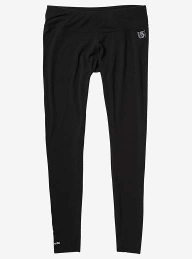 Burton Women's Midweight Pant shown in True Black