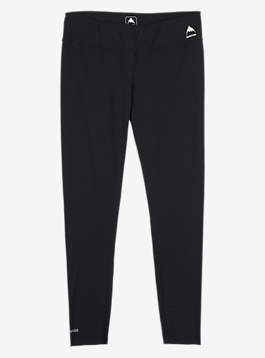 Burton Women's Midweight Base Layer Pant shown in True Black