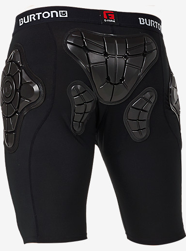 Burton Women's Total Impact Short, Protected by G-Form™ shown in True Black