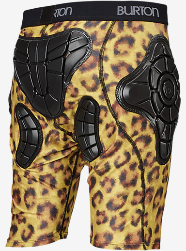Burton Women's Total Impact Short, Protected by G-Form™ shown in Cats Meow