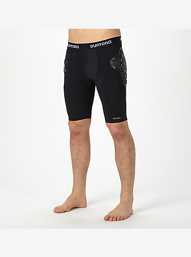Burton Total Impact Short, Protected By G-Form™ shown in True Black