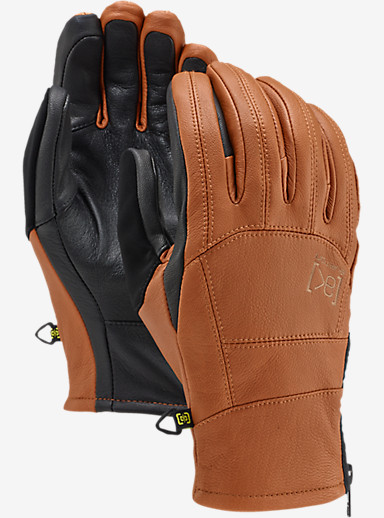 Burton [ak] Leather Tech Glove shown in Adobe