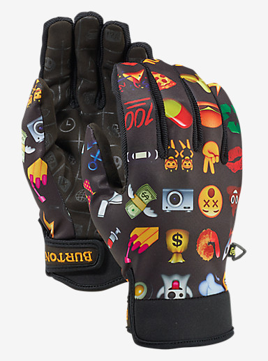 Burton Spectre Glove shown in Emoji