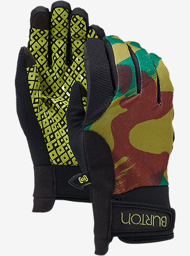 Burton Women's Pipe Glove shown in Denison Camo