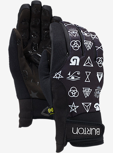 Burton Women's Pipe Glove shown in Illuminati