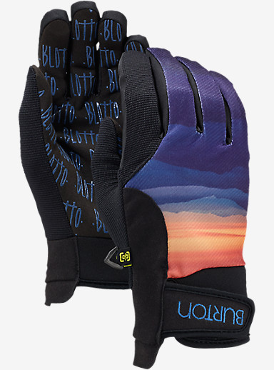 Burton Women's Pipe Glove shown in Blotto Layers
