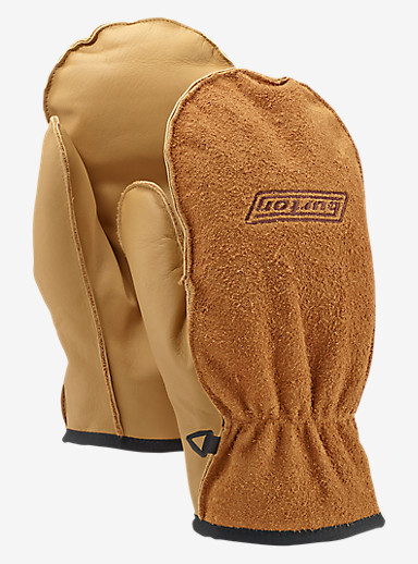 Burton Work Horse Leather Mitt shown in Raw Hide