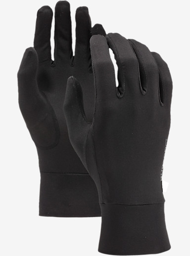 Burton Touchscreen Liner shown in True Black