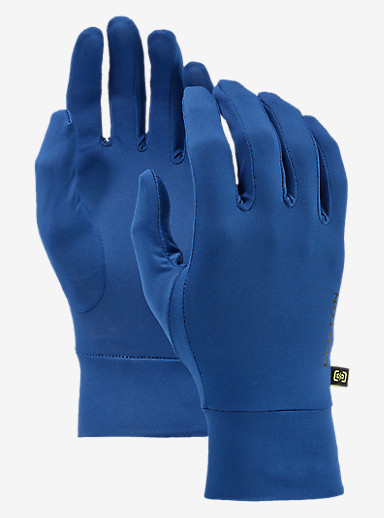 Burton Touchscreen Liner shown in True Blue