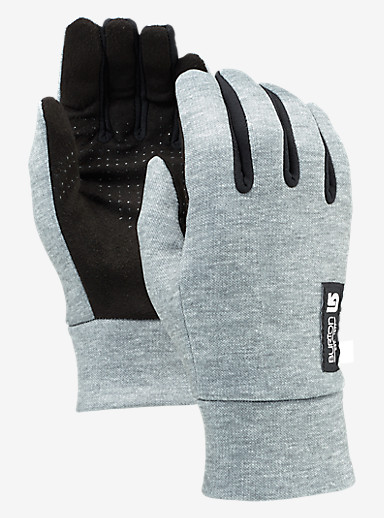 Burton Women's Touch N Go Glove shown in Heathered Gray