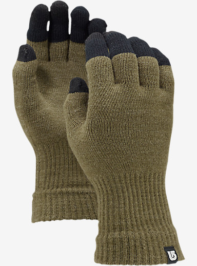 Burton Touch N Go Knit Glove shown in Heathered Keef