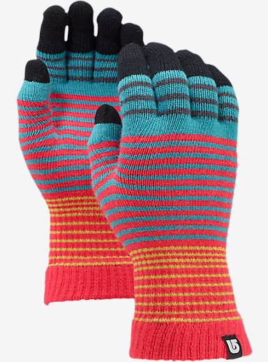 Burton Touch N Go Knit Glove shown in Tropic Scout Stripe