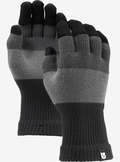 Burton Touch N Go Knit Glove shown in Heathered Block