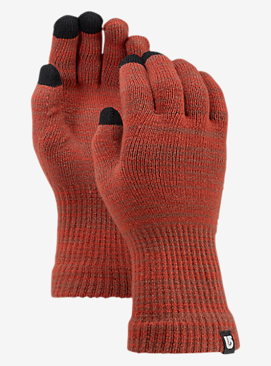 Burton Touch N Go Knit Glove shown in Picante / Matador Marl