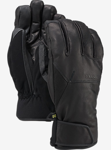 Burton Gondy GORE-TEX® Leather Glove shown in True Black