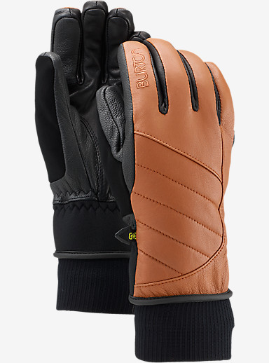 Burton Favorite Leather Glove shown in True Penny